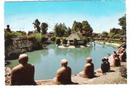 Egypt - Helwan - Japanese Garden - 2x UAR Nice Stamps - Ver. Arab. Emirate