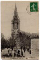 """Cpa """" La CHEVROLIERE - L'Eglise """" Rare - Ed. Mauvoisin - Saint-Philbert-de-Grand-Lieu"""