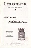 VP 15 0099 /  Géradmer Guide Médical 16 Pages 1930 - Vieux Papiers