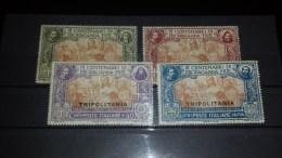 SP-000338 FRANCOBOLLI - 1923 COLINE ITALIANE SOMALIA - PROPAGANDA FIDE - UNIF. 45-48 LING. E NUOVI - Tripolitania