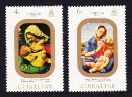Gibraltar Christmas 2v SG#335/36 SC#314-15 - Gibraltar