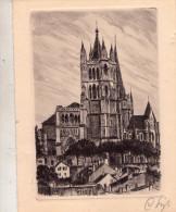 LAUSANNE  , Eau Forte  Originale - VD Vaud