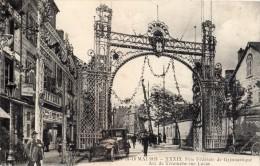 VICHY 39 EME FETE FEDERALE DE GYMNASTIQUE ARC DE TRIOMPHE RUE LUCAS  EN MAI 1913 - Vichy