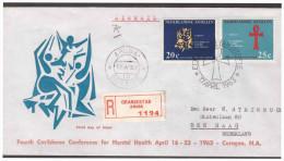 Antillen / Antilles 1963 FDC 24-2M Mental-public Health Open - Curazao, Antillas Holandesas, Aruba