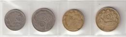 Pièce Namibie. Lot De 4 Pièces. 10c 1993, 50c 1993, 1$ 1996, 5 $ 1993 - Namibie