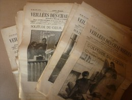 1935 VDC 22 Revues: SOLITUDE DU COEUR Par Cl.Véla; J. D´Arc;Enseignes Pittoresques;Palais-Royal ; BIDON V; Roi Pierre II - Libri, Riviste, Fumetti