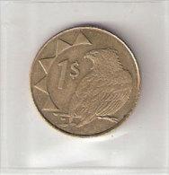 Pièce Namibie. Pièce De 1$ 1998 - Namibie