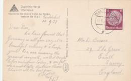 1937 GERMANY  Stamps COVER (postcard WALDEHUT) - Cartas
