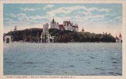 New York Thousand Islands Heart Island Geo C Boldts Estate