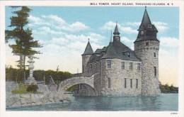 New York Thousand Islands Bell Tower Heart Island
