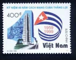 Vietnam Viet Nam MNH Perf Stamp 1998 : 40th Anniversary Of Cuban Revolution / Flag (Ms794) - Viêt-Nam