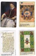 VATICANO (VATICAN) - C&C  6190.6193 - ARCHIVIO SEGRETO VATICANO - SERIE COMPLETA DI 4 SCHEDE N. 190.193 (NUOVA) - RIF.CP - Vaticano