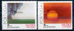 !■■■■■ds■■ Portugal Air Post 1979 AF#12-13** TAP Anniversary (x0096) - Neufs