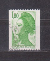 FRANCE / 1985 / Y&T N° 2378 : Liberté 1.80F Vert Roulette - Choisi - Cachet Rond - Frankreich