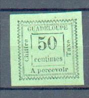 GUAD 453 - YT Taxe 12 (*) - Portomarken