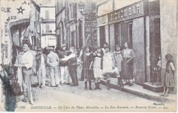 FRANCE  MARSEILLE    PROSTITUTES   LA  RUE  BOULERIE - Old Professions