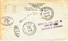 U.S.  COVER  SPECIAL  DELIVERY  ILL.  TO  L.A., CALIF. - United States