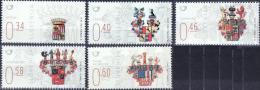SI 2014-1078-82 ARMS, SLOVENIA, 1 X 5v, MNH - Briefmarken