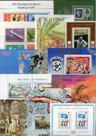 Kosmos Puzzles Block LA Aus 12 Ländern Blocks/KB O 60€ Kunst UN Bloque Hojitas Space Blocs Art Sheet M/s Sheet Bf Topics - Sciences