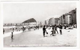 Rio De Janeiro - Brasil - Praia De Copacabana (1958) - Copacabana