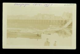 Nieuport - Bains  Nieuwpoort  : Carte Photo Guerre  Fotokaart Oorlog 1914 - 1918 - Nieuwpoort