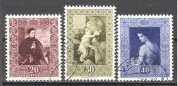 Liechtenstein: Yvert 268/70°;  Used; Cote 25.00 €; Voir Scan - Liechtenstein