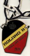 Roland II Prins Van België 1979 - Plaquette In Goudkleurig Metaal - Carnaval