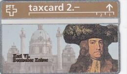 Switzerland, K-180.A, Die Goldenen K�nigskarten - Karl VI Deutscher Kaiser, Mint.   306L.