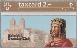Switzerland, K-160.A, Die Goldenen K�nigskarten - Heinrich I Deutscher K�nig, Mint.   326L.
