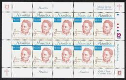 Namibia  Mi.Nr. 1001 **, Postfrischer Kleinbogen - Namibia (1990- ...)