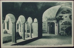 ROMA S.LORENZO AL VERANO Peristilio Del Chiostro E Nuovo Ingresso Alle Catacombe Di S.Ciriaco Restauro 1929 - Iglesias