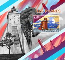 tg14421b Togo 2014 Lighthouses s/s