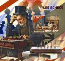 tg14423b Togo 2014 Chess s/s Egyptian