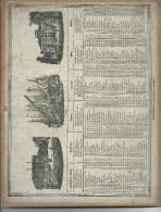 Calendrier 1848      N 51   Trambly Papetier  à Paris - Calendriers