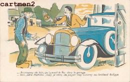 ILLUSTRATEUR EDOUARD BERNARD PUBLICITE CREME ECLIPSE CIRAGE AUTOMOBILE VOITURE - Reclame