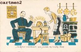 ILLUSTRATEUR EDOUARD BERNARD PUBLICITE CREME ECLIPSE CIRAGE - Advertising