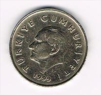 ¨¨ TURKIJE  50 BIN  LIRA   1999 - Turquie