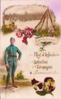 BEAUVAIS - Mon Adresse - 51e Régiment D'Infanterie - 1er Bataillon - 3e Compagnie - Beauvais