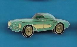 PIN´S //  . CHEVROLET CORVETTE TURQUOISE - Corvette
