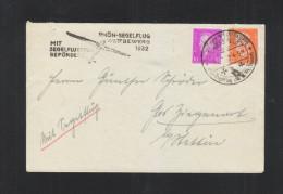 Dt. Reich Rhön Segelflug Wettbewerb 1932 - Luftpost