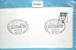 SD5521 Postkutschen-Fahrten Im Weihnachtsmarkt, 97421 Schweinfurt DE 24.11.2001 - [7] Federal Republic