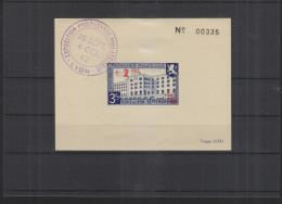 Bloc Propagande Philatelique Lyon 1942 Tirage 3000 (4) - Blocs Souvenir