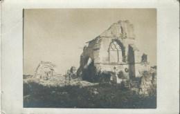 49B    51 Prosnes Carte Photo De L'église En 1917 (vue Pas Courante) - Francia
