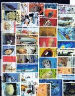 37 Valeurs De DJIBOUTI - Timbres