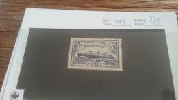 LOT 225141 TIMBRE DE FRANCE NEUF* N�299 VALEUR 15 EUROS