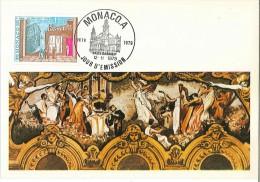 CM Monaco - G Auric - Les Matelots - Salle Garnier - 1979 - Maximumkarten (MC)