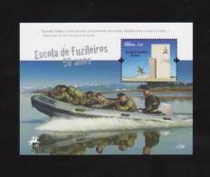 Portugal 2011 Mi.Nr. Sheet 317 (3641) , Escola De Fuzileiros 50 Anos - Postfrisch / MNH / (**) - Nuevos