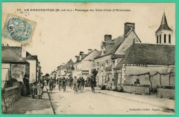 La Daguenière - Maine Et Loire - Passage Du Vélo Club D'Allonnes - Animée - Angers