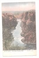 Rhodesia POSTCARD ZAMBESE RIVER A MILE BELOW VICTORIA FALLS Zimbabwe - Zimbabwe