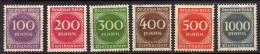 Deutsches Reich, 1923, Mi 268-273 ** [270914L] - Duitsland
